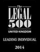 The Legal 500 - Leading Individual 2014