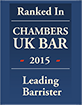 Ranked in Chambers UK Bar - Leading Individual